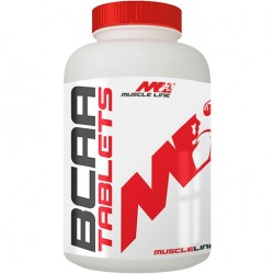 BCAA Tablets, 200 tablete